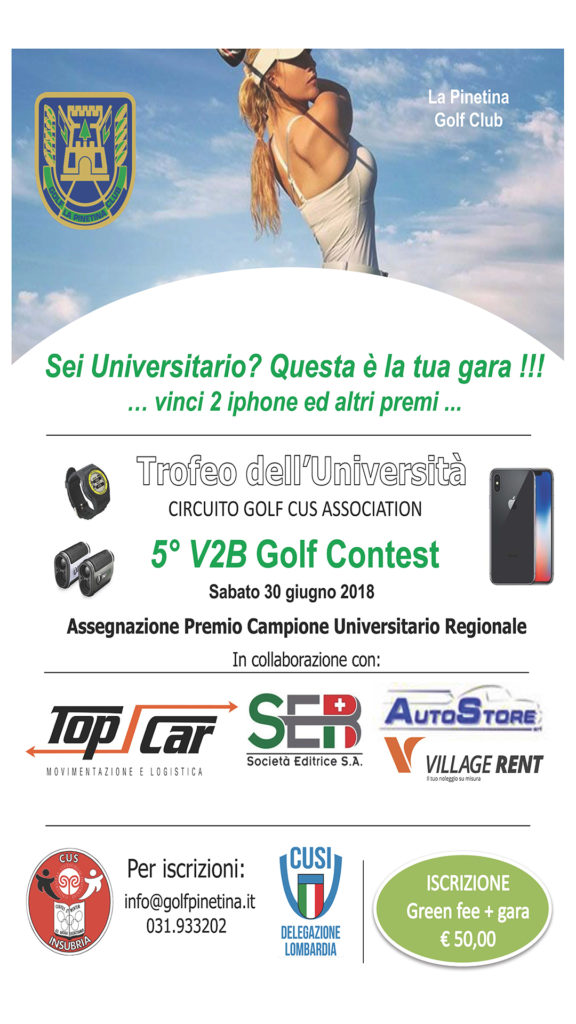 Trofeo dell'Università 2018 1