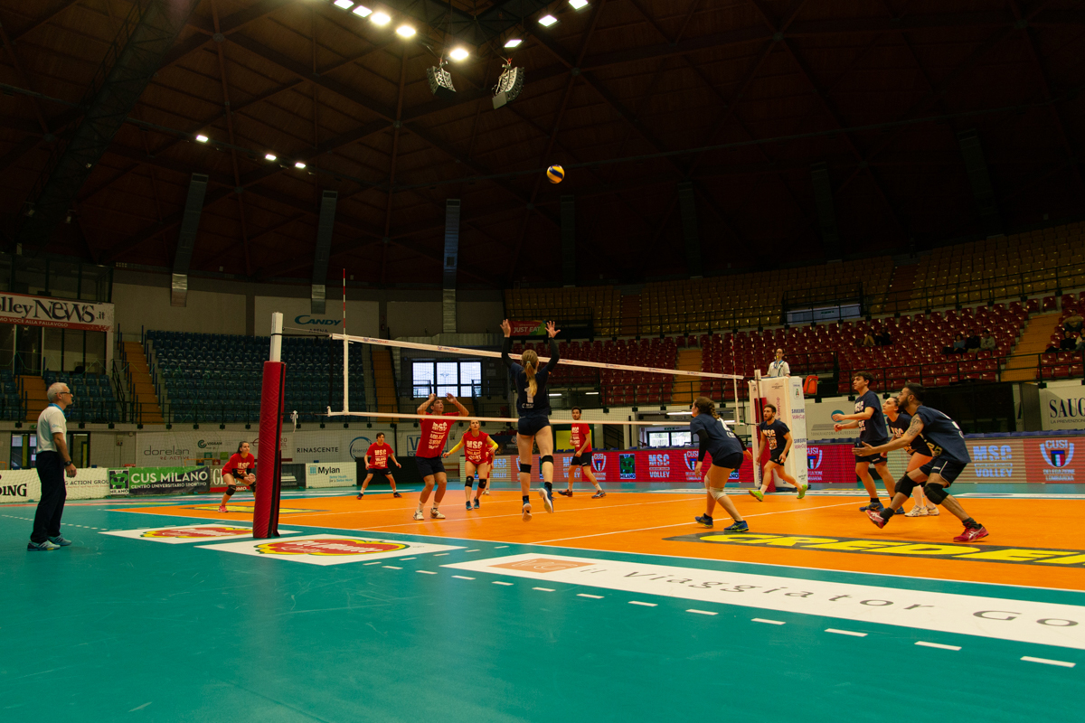 "Finale MSC Volley, ""The Kings"" of Candy Arena"